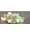 Cotton Balls mint lichtsnoer 5.28 meter