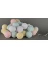 Cotton Balls pastel lichtsnoer 5.28 meter