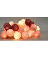 Cotton Balls rood lichtsnoer 5.28 meter