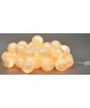 Cotton Balls wit/zilver lichtsnoer 5.28 meter