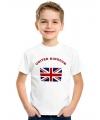 Kinder shirts met de Union Jack vlag