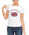 Dames shirts met de Union Jack vlag